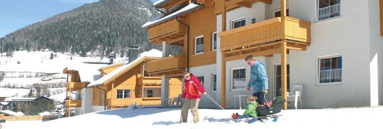 Ontdek onze wintersportparken<br>in Oostenrijk