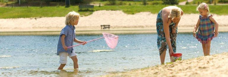 Zonnige zomervakantie<br>in augustus
