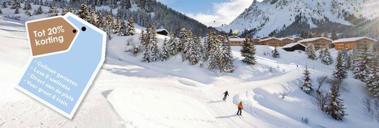 Wintersportkorting<br>tot 20%