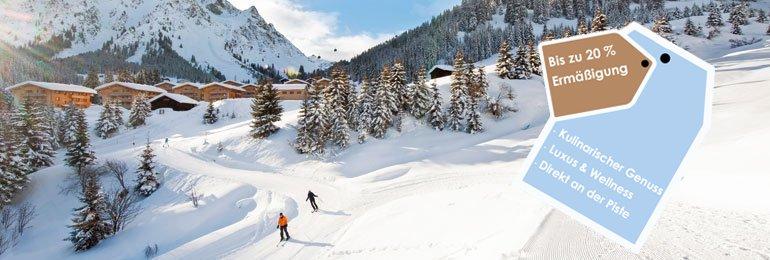 Ferienparks in den<br/>schönsten Skigebieten