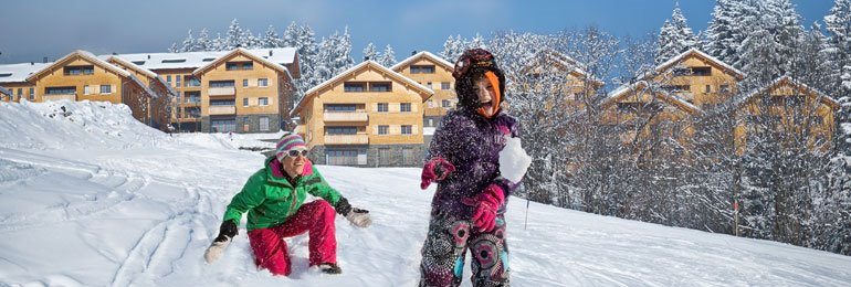 More winter sports <br> with Landal Ski Life