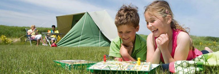 8 Campingplätze<br/>im Herzen der Natur